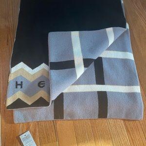 Henri Bendel striped our oversized scarf